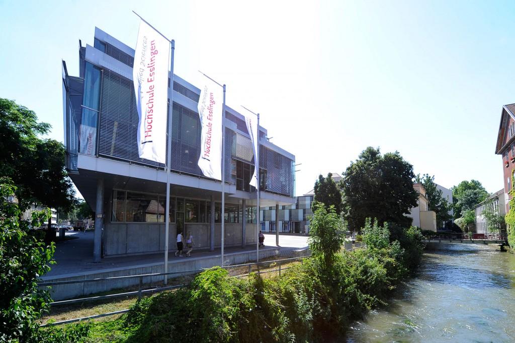 Hochschule Esslingen, University of Applied Sciences Building in Germany