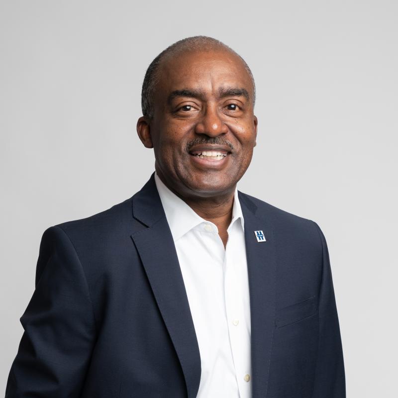 LinkedIn photo of one of our board members, Milton Davis, P.E.