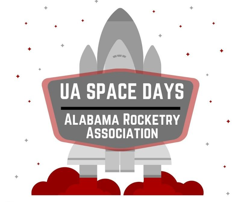 LinkedIn photo of a UA space days graphic for Alabama rocketry association