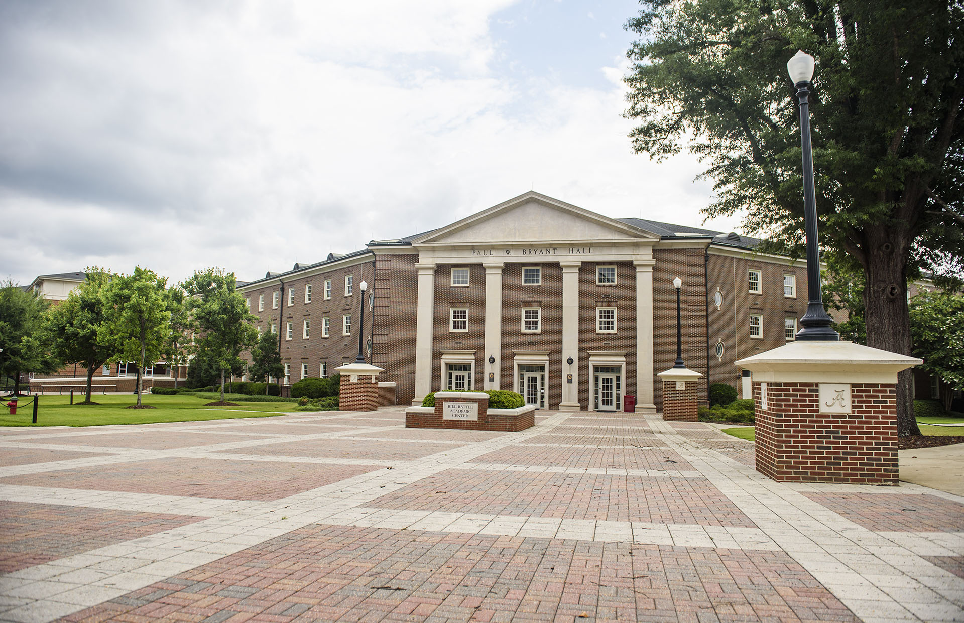 Front of Bryant Hall.