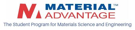 Material Advantage Student Chapter logo logo