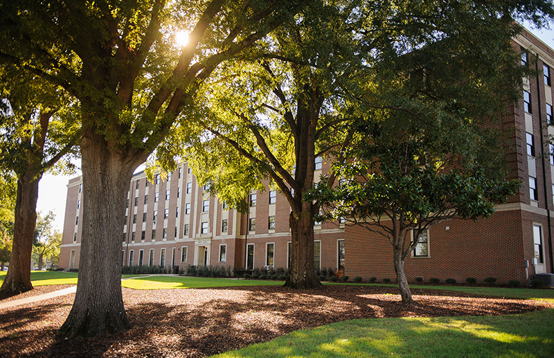 A view of Paty Hall where the EXCELL is housed