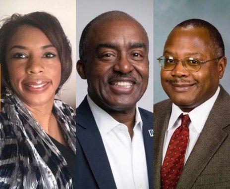 Twitter photo of 3 black leaders in their communities